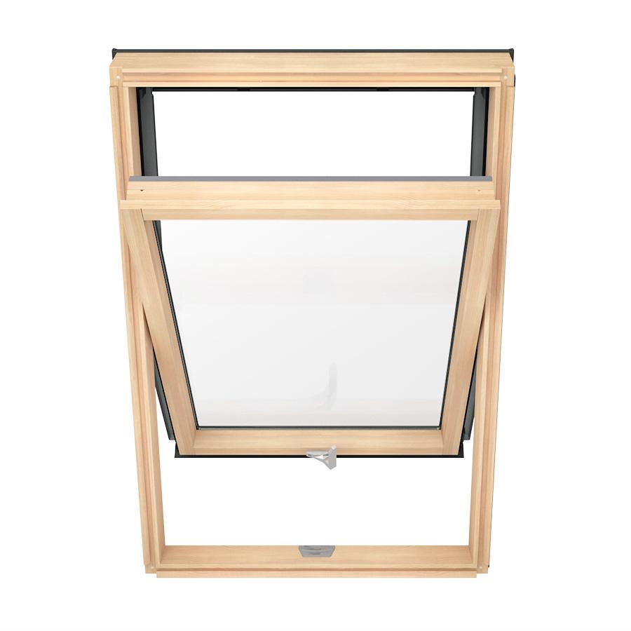 Solstro AAX B500 Dachfenster Holz mit Eindeckrahmen