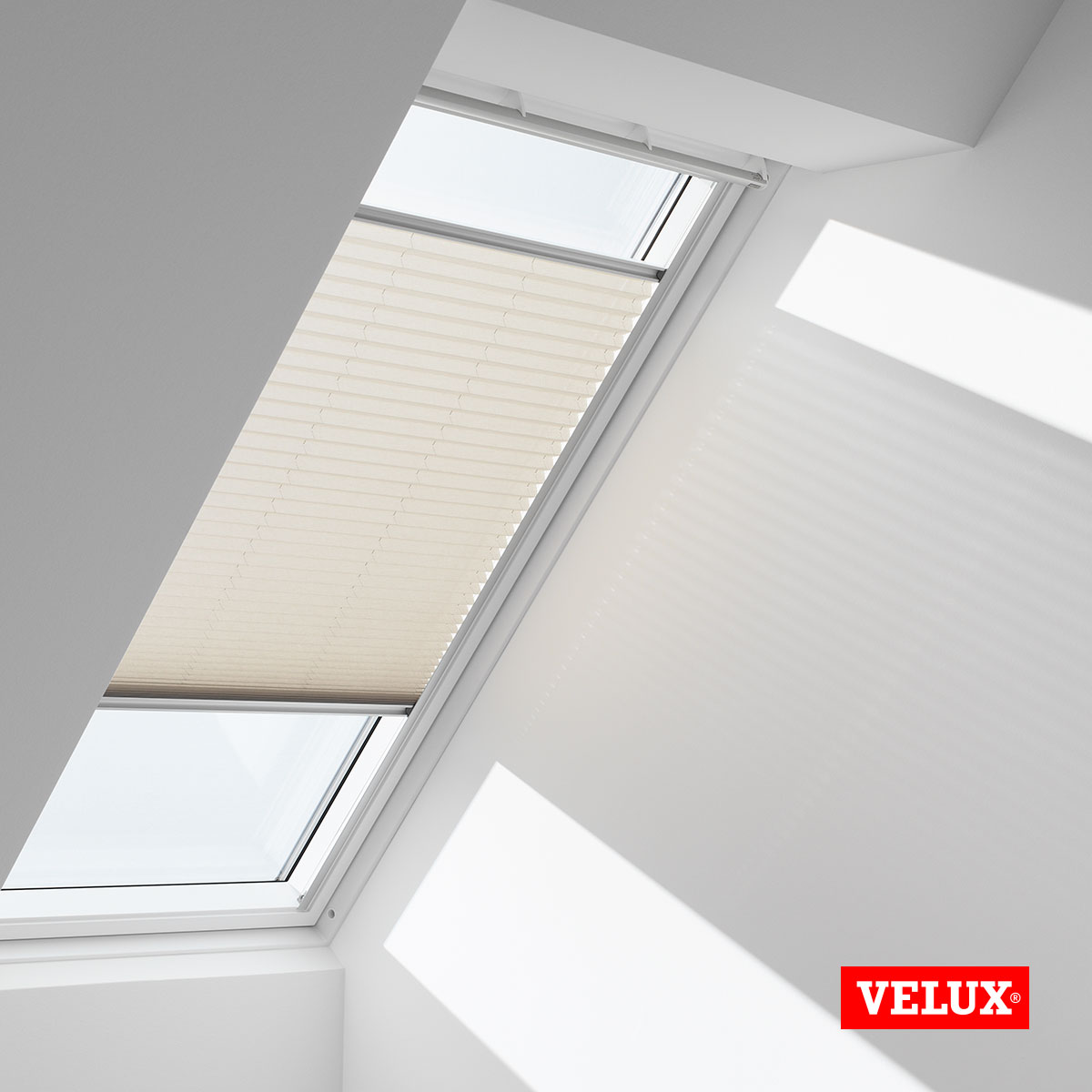 original velux faltstores plissee f r dachfenster ggl ggu gpl gpu ghu ebay. Black Bedroom Furniture Sets. Home Design Ideas