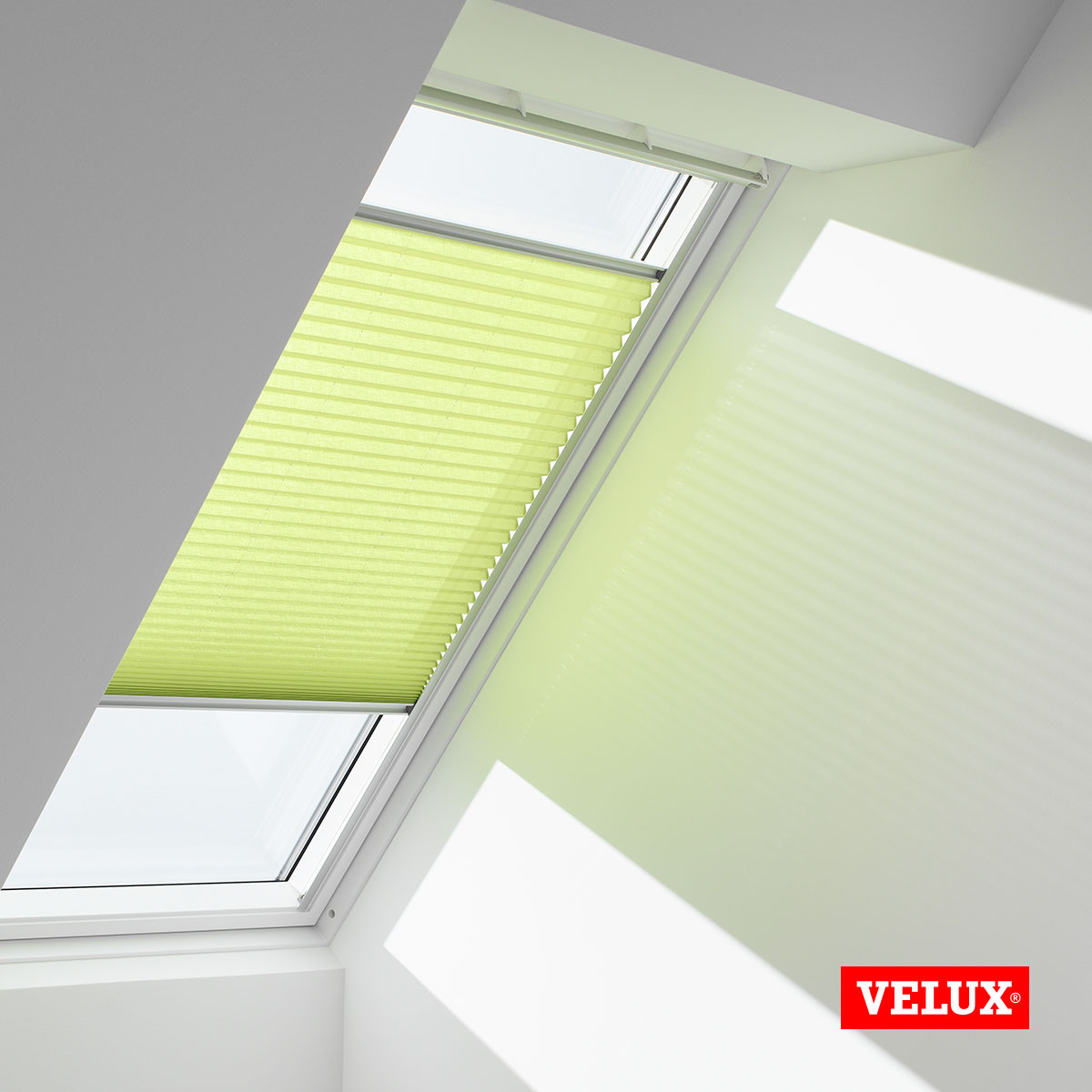 Genuine Velux Pleated Blinds For Skylight Roof Window In