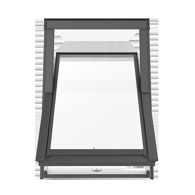 Dachfenster kunststoff von solstro schwingdachfenster for Fenster schnelle lieferung