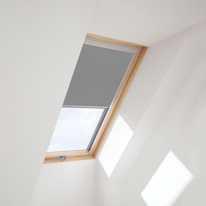 Dachfensterrollo f r velux dachfenster verdunkelungsrollo for Verdunkelungsrollo fur velux dachfenster