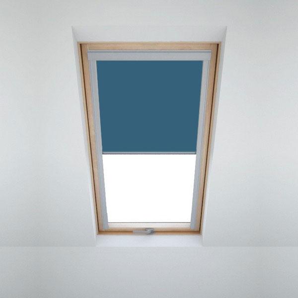 verdunkelungsrollo f r velux dachfenster in 8 verschiedenen farben von itzala ebay. Black Bedroom Furniture Sets. Home Design Ideas